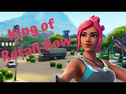 Fortnite Battle Royale: King of Retail Row! |