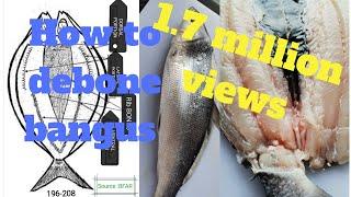 How to debone bangus(milkfish) my way.