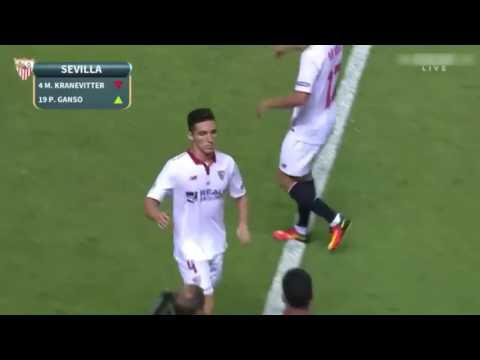Estréia de Paulo Henrique Ganso Contra o Barcelona ( Super Cup )