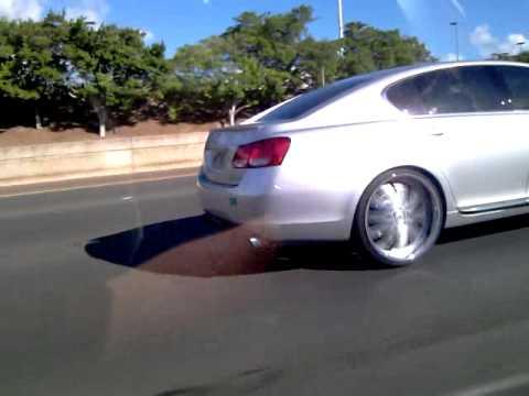2006 Lexus Gs On 22s In Hawaii Youtube
