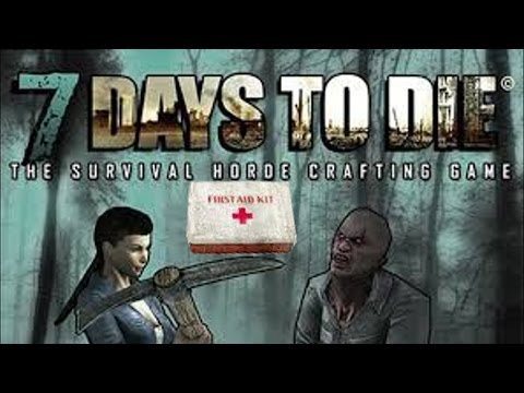 7 Days To Die Alpha 9.3 How To Craft First Aid Kits | Grain Alcohol | Gascans