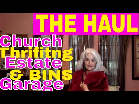 Garages Sale Estate Sale Church Rummage Sale The Haul  A- Listers Buy Low & Haggle