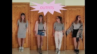 1 LOOK 4 OUTFITS | Noelia Mh