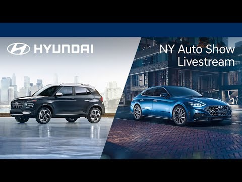 New York Auto Show Livestream | Hyundai - YouTube