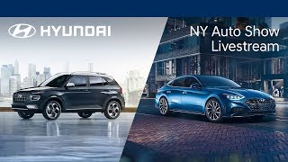 New York Auto Show Livestream   Hyundai