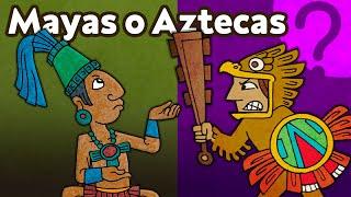 ¿Qué diferencia a los aztecas de los mayas? - CuriosaMente 68