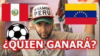 ⚽ PERÚ VS VENEZUELA