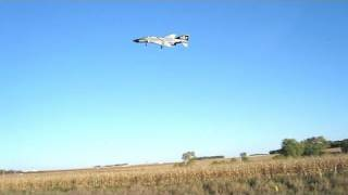 Real F-4 Phantoms vs NitroPlanes ProJet R/C Phantom. See both Fly!