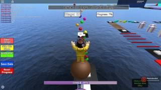 Cheating the game, roblox mega fun obby