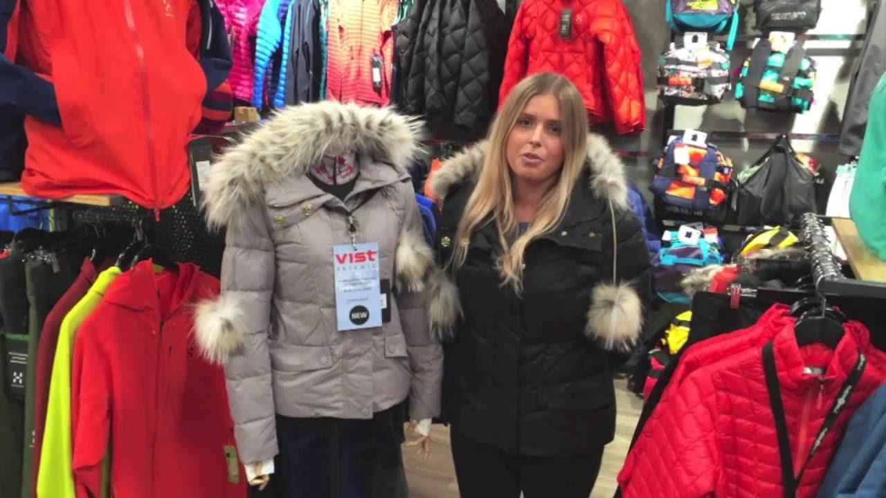 Women's down jacket comparison