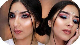 FESTIVAL Make Up Look 2018 💜   Sanny Kaur