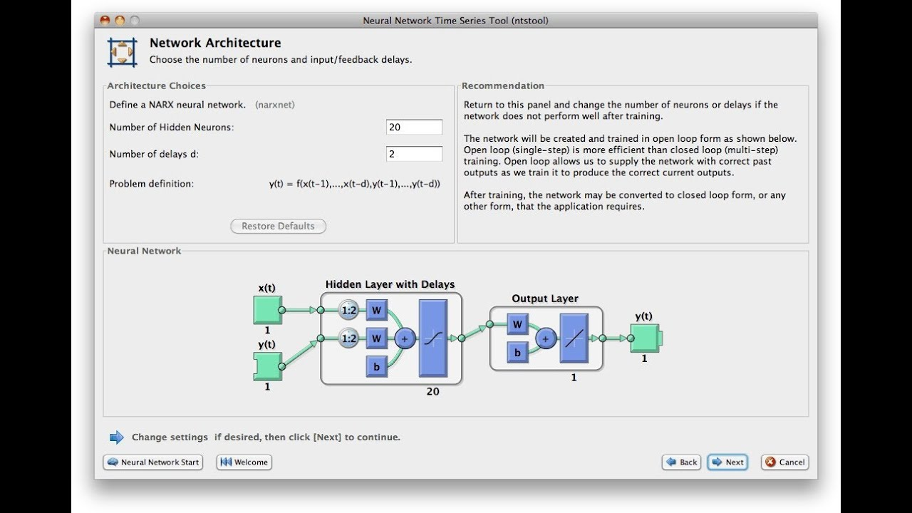 HOW TO USE MATLAB NEURAL NETWORK TOOL