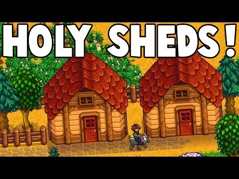 Generate Stardew Valley - What to do with your shed? | PLUS GIVEAWAY! Snapshots