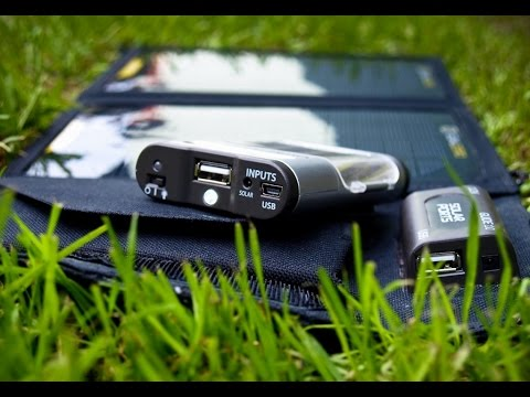 review alat outdoor Goal zero solar panel  foldable Nomad 7.power bank charger dengan panel surya