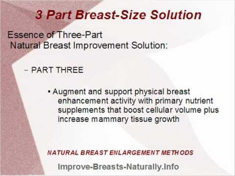 Tips for breast development