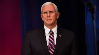Watch US Vice President Mike Pence speak LIVE about the future of military in space