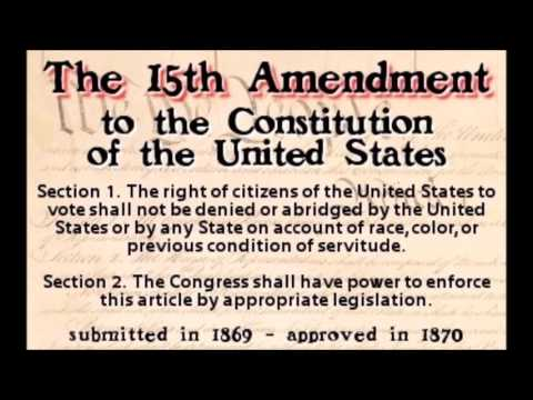 032717 15th Amendment; Missing Childred in DC (Rants/ Closings)