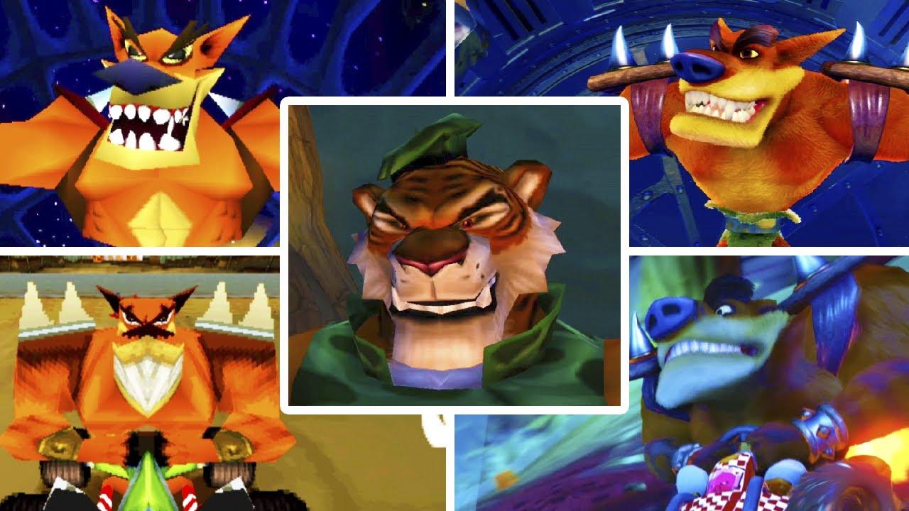 Evolution of Tiny Tiger from Crash Bandicoot (1997-2020)