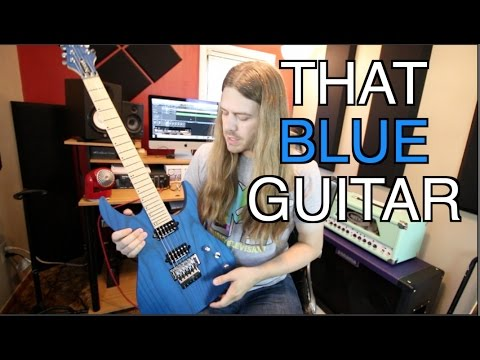 What's That Blue Guitar??