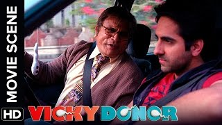 Annu kapoor asks ayushmann to become sperm donor | vicky donor | movie scene