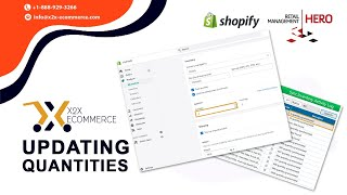 x2x RMH Shopify Integrator - Updating Quantities