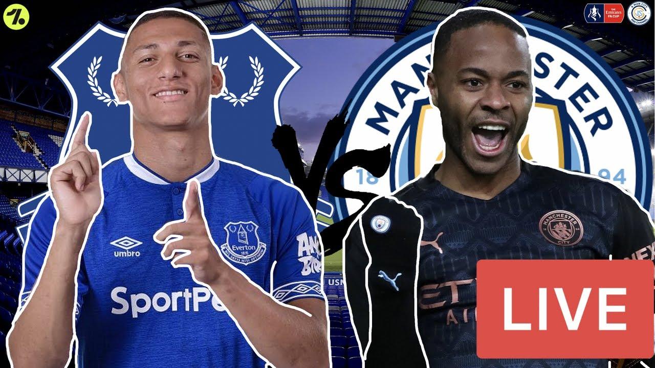 Everton V Man City Live Stream   FA Cup 6th Round Match ...