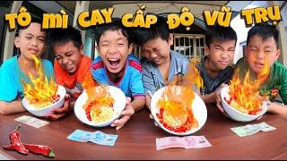 Tony | Thử Thách 30 Giây Ăn Mì Siêu Cay - Super Spicy Noodle