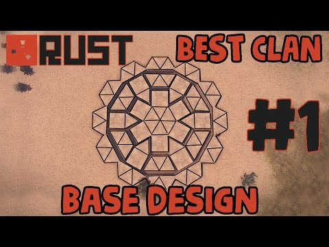 RUST BEST CLAN BASE DESIGN #1