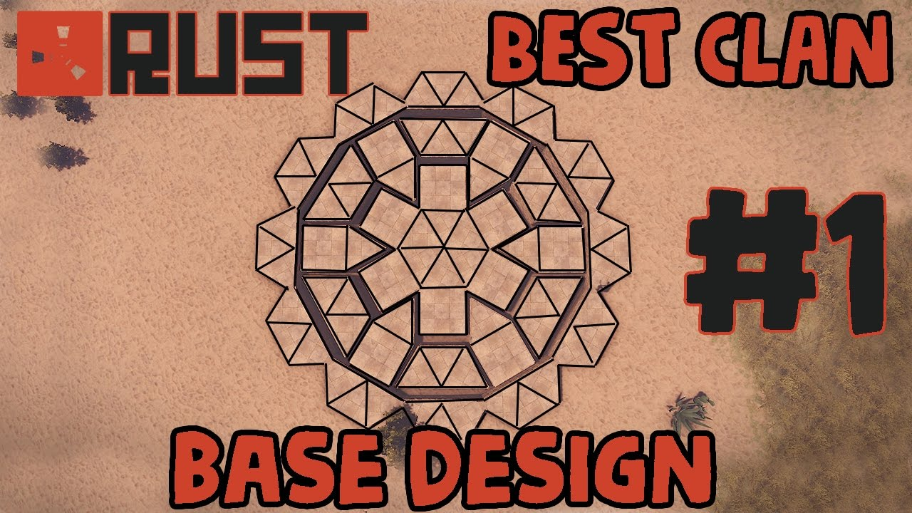 Rust best clan base design 1 the phoenix youtube for Best design