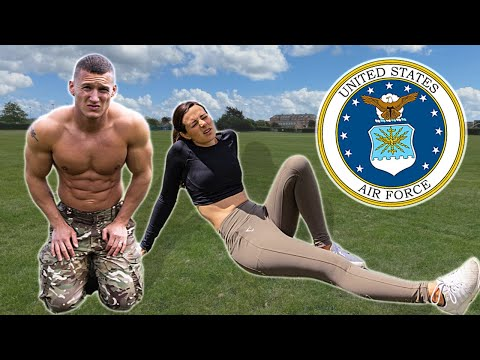 We tried the US Airforce Fitness Test without practice