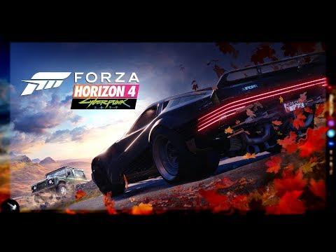 Forza Horizon 4 ► CyberPunk 2077 Ferrari Quadra V-Tech Edition