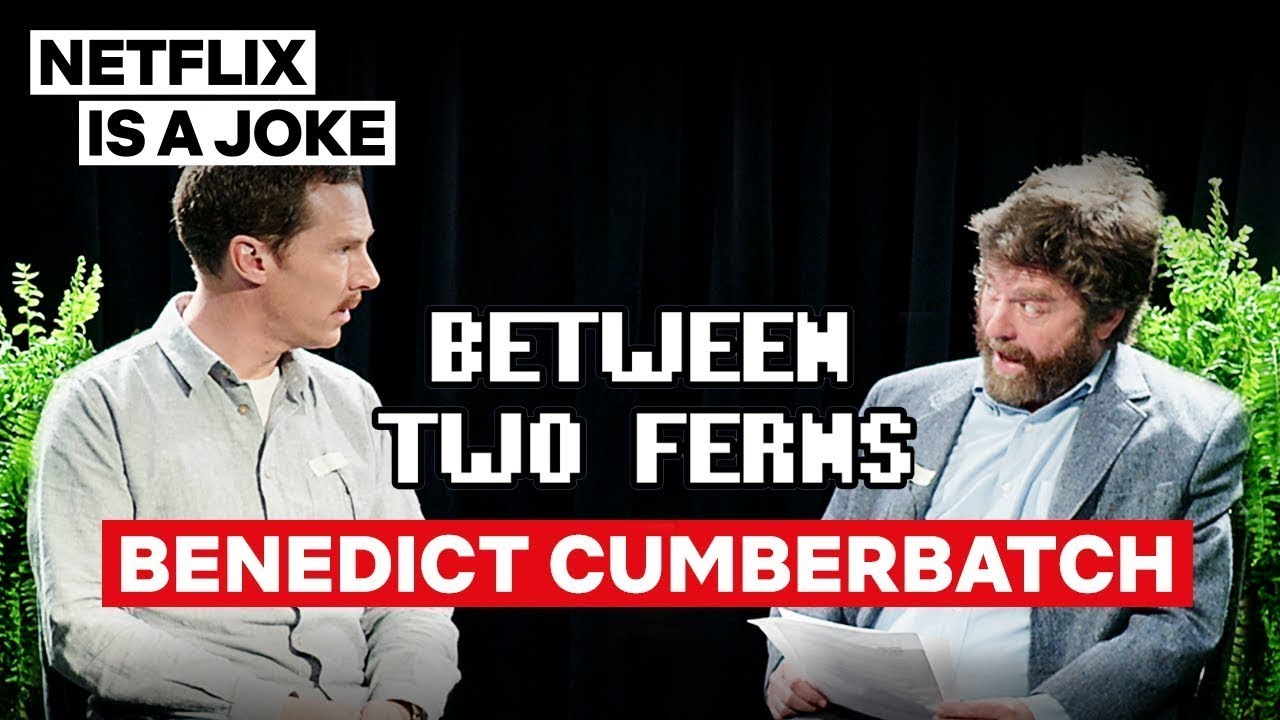 Download Benedict Cumberbatch: Between Two Ferns with Zach Galifianakis   Netflix Is A Joke