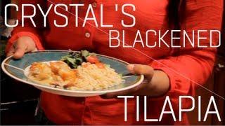 Crystal's Blackened Tilapia With Appaloosa Sauce Recipe
