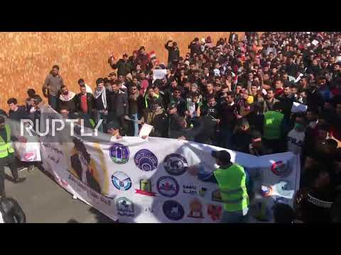 Iraq: Thousands rally against government crackdowns on demonstrations