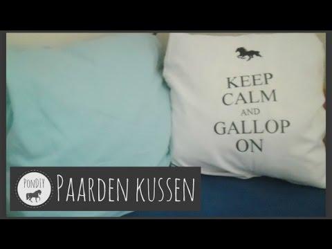 Diy zelf een paarden kussen ontwerpen youtube
