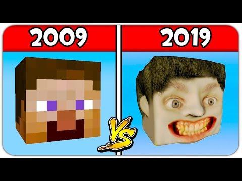 Evolution Of Minecraft Skins! 25+ LINK DOWNLOAD In DESCRIPTION! FREE MIENCARFT SKINS
