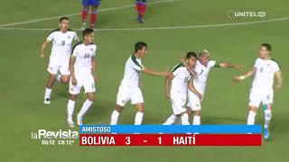 Amistoso: Bolivia 3-1 Haití