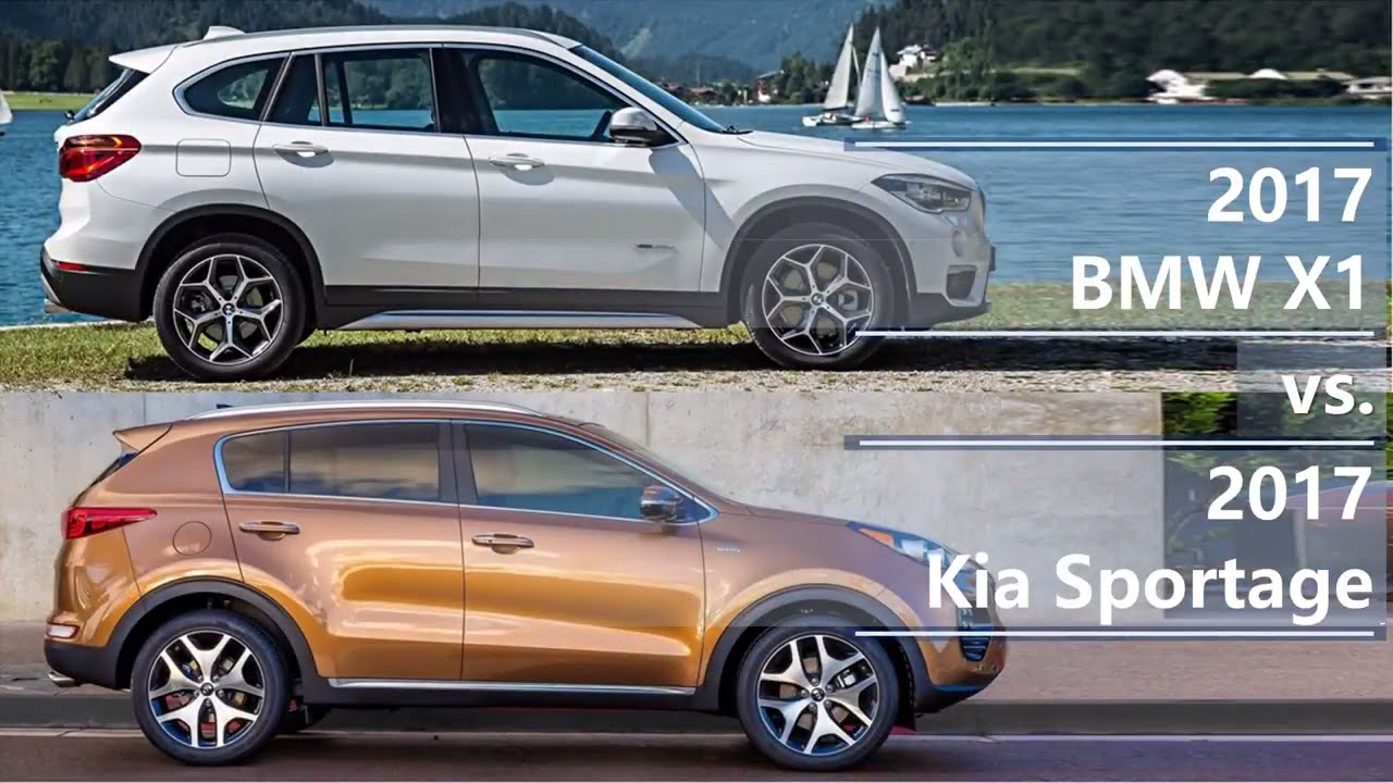 2017 BMW X1 vs 2017 Kia Sportage (technical comparison ...