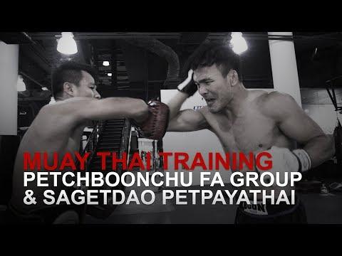 Muay Thai World Champion Petchboonchu FA Group Looking Sharp!