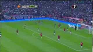 mxico vs panama 2 1 gol de chilena de raul jimenez 11 10 2013