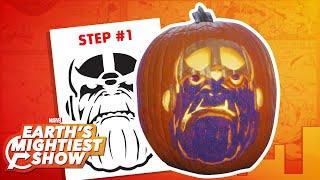 How to make a Thanos pumpkin for Halloween! | Earth