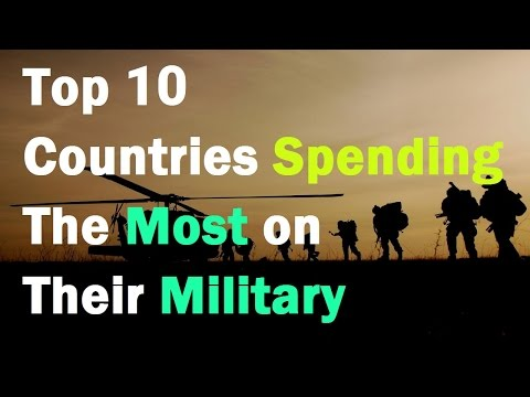 Top 10 Countries Spending the Most on their Military