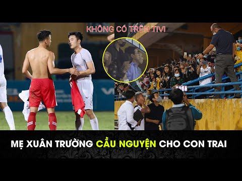 Xuân Trường đổi áo với Quế Ngọc Hải, thầy Park yêu cầu Văn Thanh đi khám chấn thương|Viettel vs HAGL