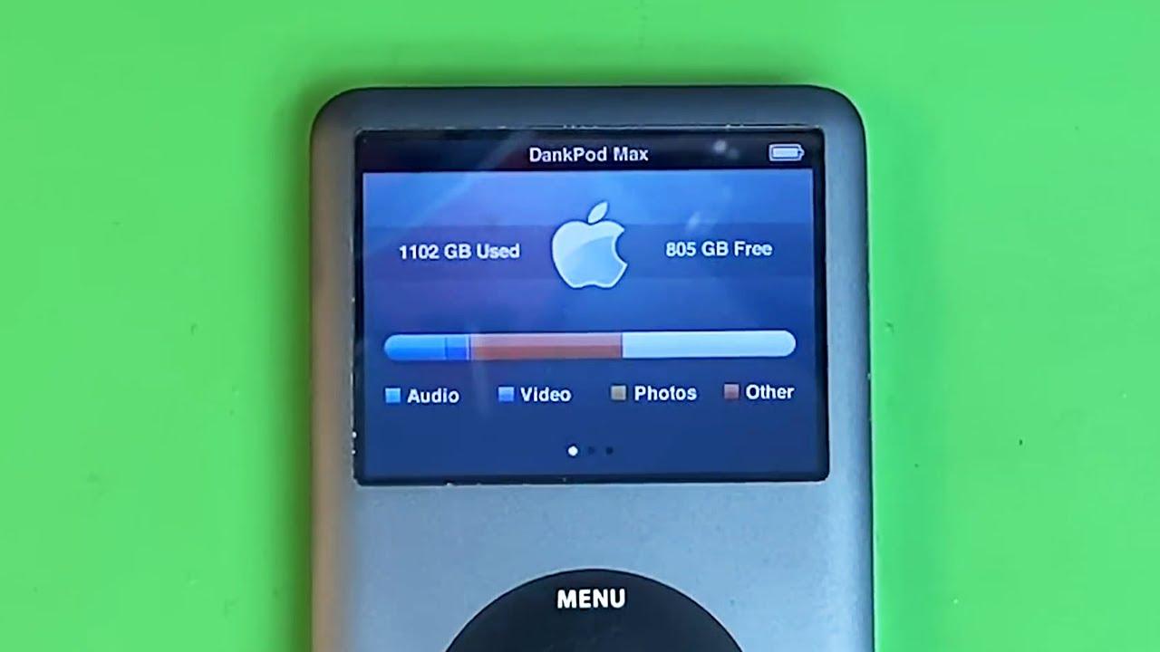 iPod con 2,000 GB