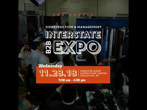OJBA INTERSTATE EXPO - November 28, 2018 at the Meadowlands Exposition Center