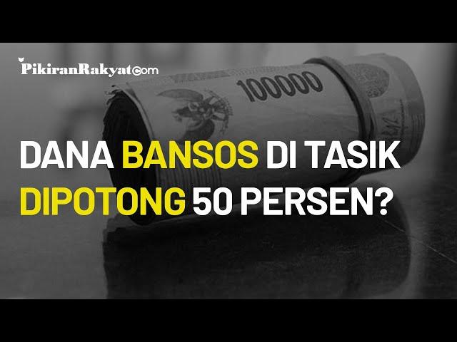 Dana Bansos di Tasikmalaya Diduga Dipotong hingga 50 Persen, Kepolisian Belum Beri Keterangan