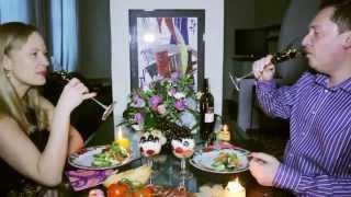 Романтический ужин.