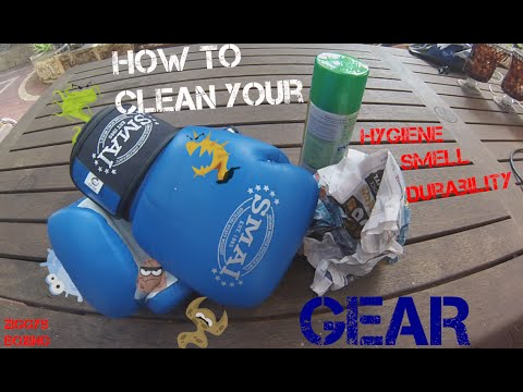 How to clean and be Hygienic with your Gloves and Gear