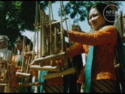 An Angklung Orchestra. Our Asian Neighbours  Indonesia.