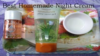 Natural Night Cream for all type of Skins